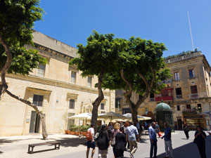 Valletta's old law Courts