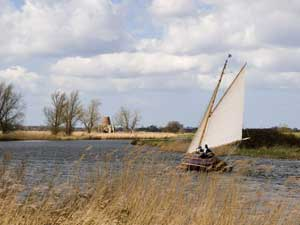 Sailing and St Benets - River Bure